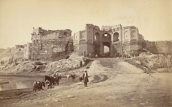 The Bala Hissar Gate, or Shah Sahid's Gate [Kabul].